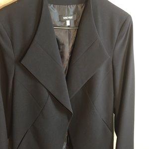 Nine West black blazer size 12